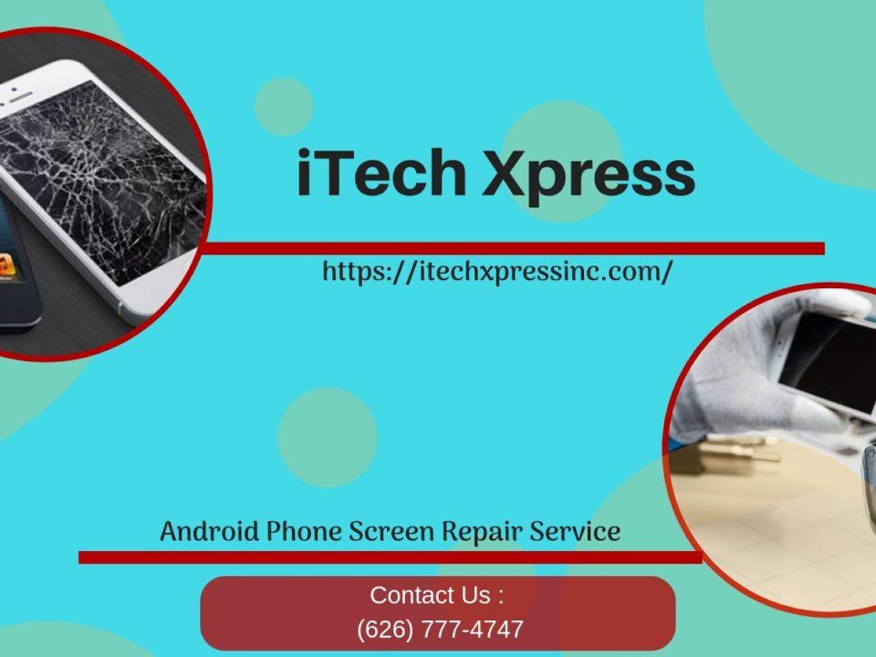 Android screen repair near me