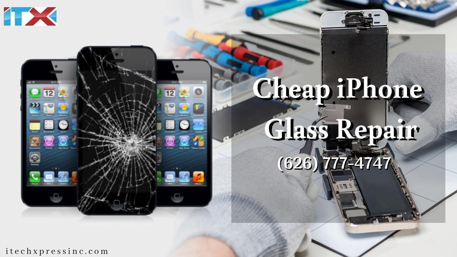 Cheap iPhone Glass Repair