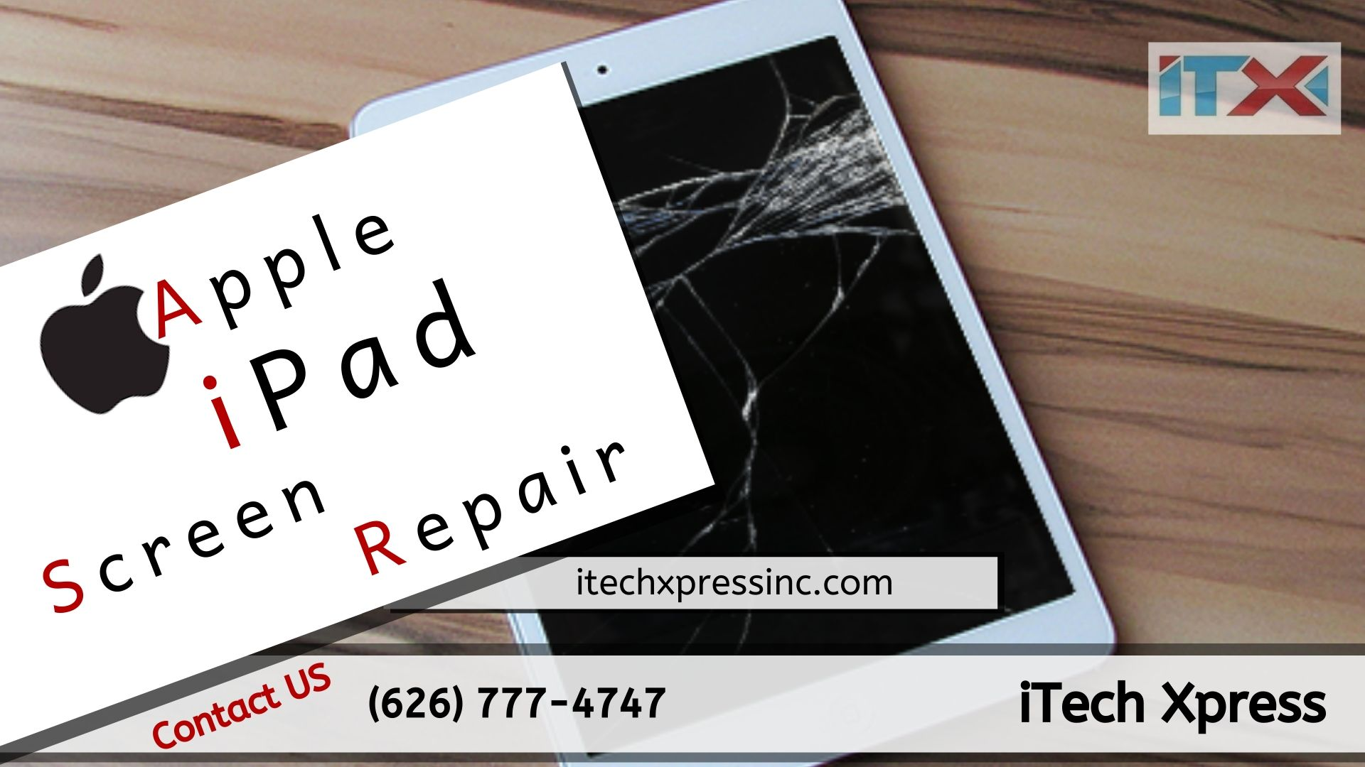 Apple iPad Screen Repair