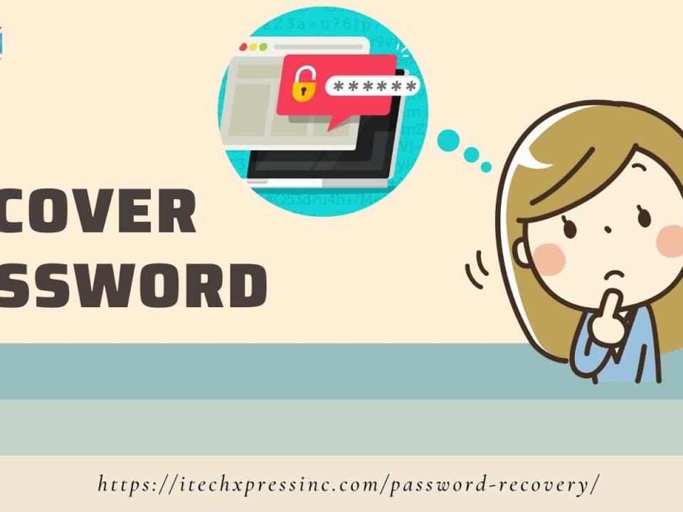 Recover Password Covina