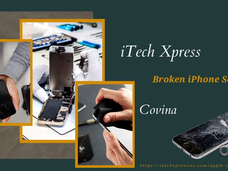 Broken iPhone Screen Covina