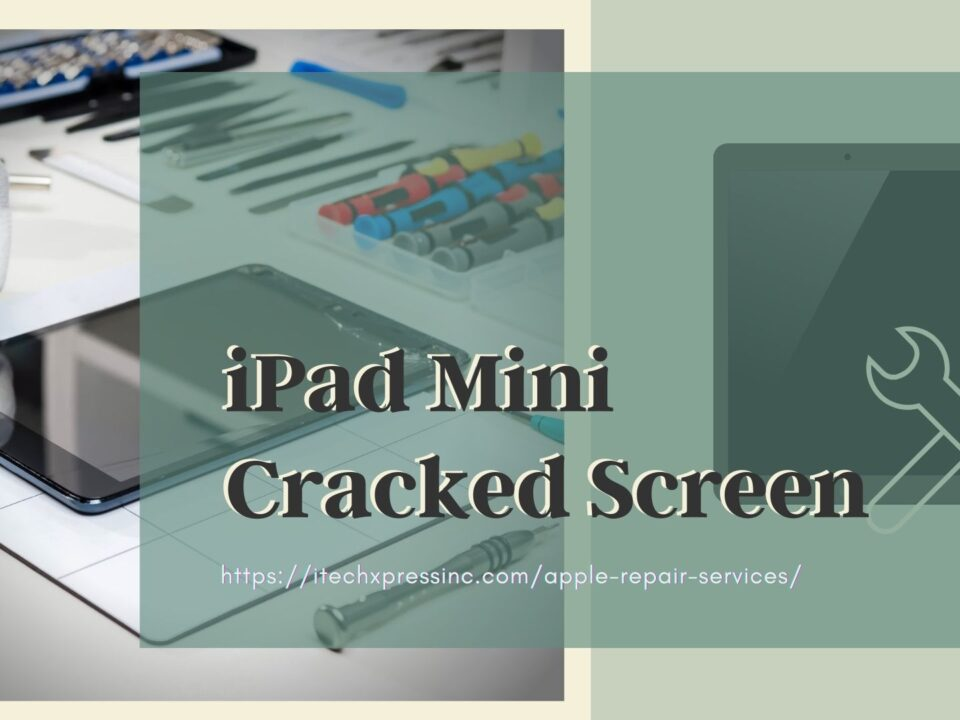 iPad Mini Cracked Screen