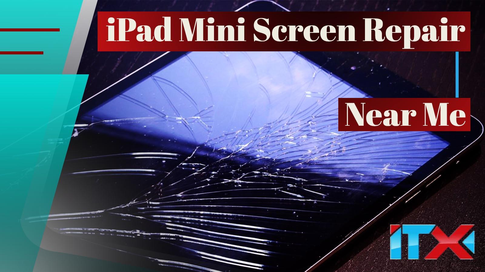 iPad Mini Cracked Screen