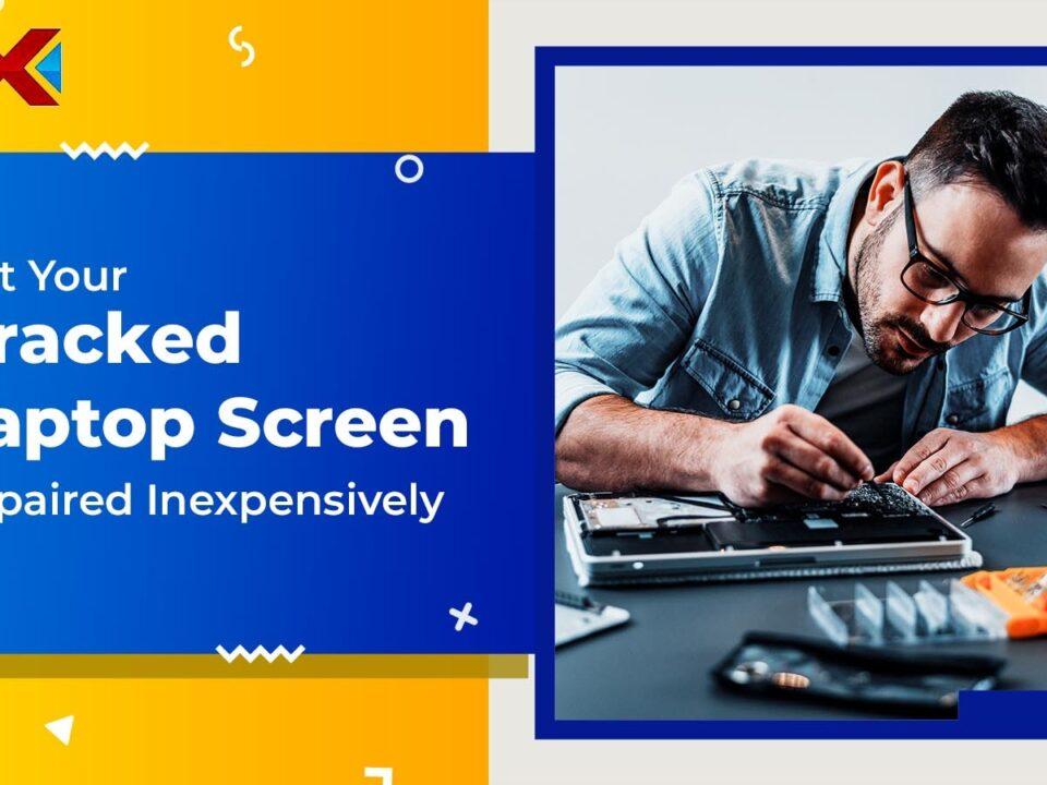 Cracked Laptop Screen Repair